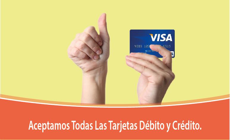 tarjeta de crédito acompañante del hotel mamada